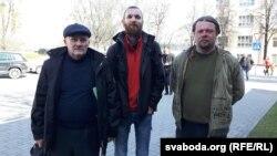 Мікалай Салянік, Антон Войцехаў, Вадзім Саранчукоў