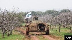 Бойцы группировки ХТШ в Сирии (архивное фото)