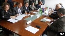 Седница на Советот на јавни обвинители. Катица Јанева.