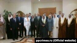 Зустріч із королем Бахрейну