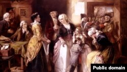 Томас Фалкан Маршал, «Арышт Людовіка XVI і яго сям'і» (1854)