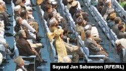 Делегаты лойя-джирги в Кабуле