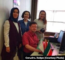 Татар бүлегенең хәзерге хезмәткәрләре