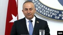 Түркия сыртқы істер министрі Мевлют Кавусоглу.