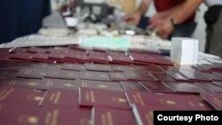 Dokumentet e konfiskuara nga Policia e Kosovës