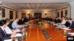 Седница на Економски совет на Влада