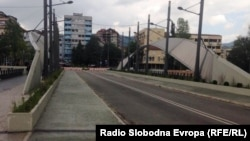 Ura kryesore mbi lumin Ibër në Mitrovicë.