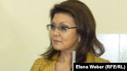 Дочь президента Казахстана депутат мажилиса парламента Дарига Назарбаева.