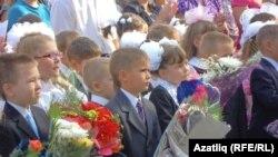 Казанның 155 санлы татар гимназиясендә Белем көне