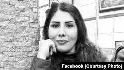 Iranian blogger Neda Amin who faced deportation threat from Turkey due to her writing for an Israeli website, undated.