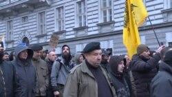 Hundreds Attend Anti-Migrant March In Belgrade