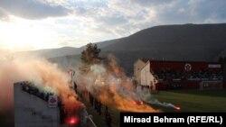 Neredi tokom i nakon derbija u Mostaru