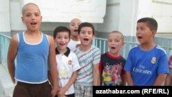 Колядующие дети, Туркменистан