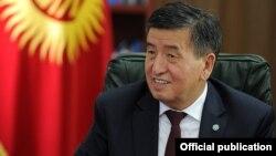 Қырғызстан премьер-министрі Сороонбай Жээнбеков.
