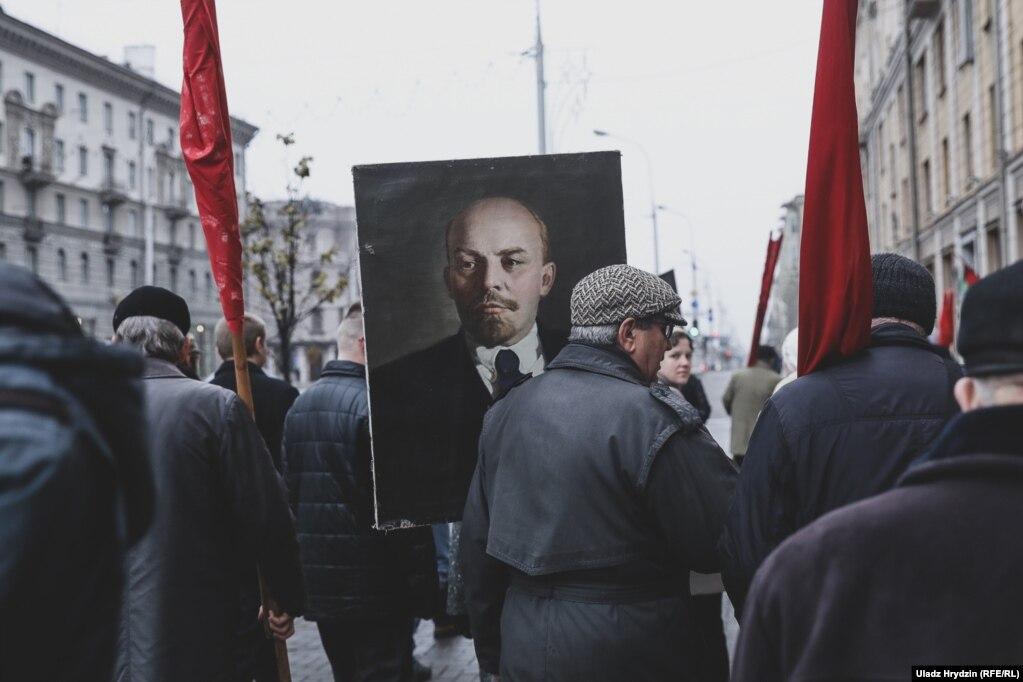 День Октябрьской революции, Минск, 7 ноября.