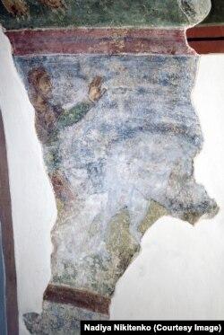 Полювання на вепра. Фреска XI століття, Софійський собор