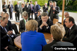 """Переговоры """"Нормандской четверки"""" в Париже, 2 октября 2015 года"""