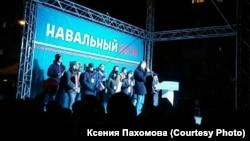 Встреча Навального с избирателями, архивное фото