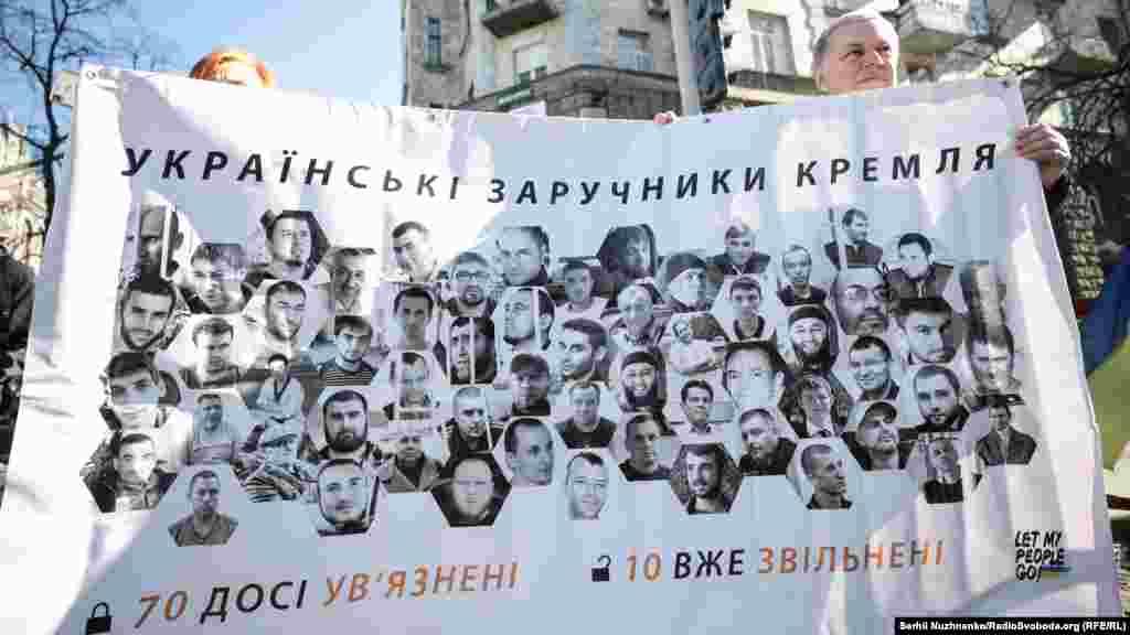 За пять лет российской агрессии против Украины на Донбассе и в Крыму удалось освободить только 10 удерживаемых Россией украинцев