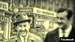Молодые кинематографисты из Узбекистана и Грузии Али Хамраев и Нугзар Шария в США, 1964 год.