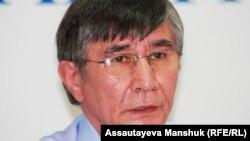 Саясаткер Жасарал Қуанышәлин. Алматы, 19 тамыз 2013 жыл.