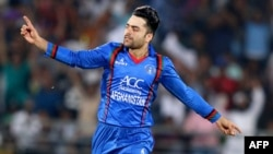 راشد خان یکی از بهترین بازیکنان تیم ملی کریکت افغانستان و چهره پر طرفدار در سطح جهان