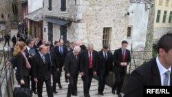 Ivo Josipović u Mostaru 15. april 2010.