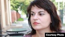 Exiled Belarusian journalist and activist Natallya Radzina