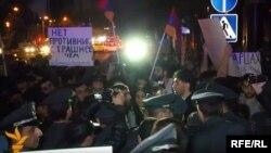 Protest aksiýasy, Ýerewan