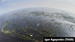 Поплави во регионот Амур, Русија