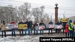Красноярские автовладельцы потребовали снижения цен на топливо, 26 октября 2014