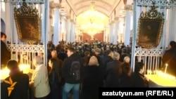 Թուրքիա - Ստամբուլի հայ համայնքը 2015 թվականի ապրիլի 24-ի արարողությունների ժամանակ