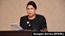 Former Georgian Foreign Minister Salome Zurabishvili