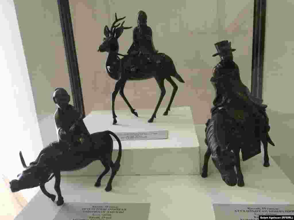 Изображения Лаоцзы, Конфуция и Шоусина - создателей собственных мировоззренческих учений. Китай, 19-й век.