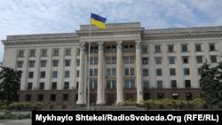 Національний прапор України на Куликовому полі, Одеса, 1 травня 2020 року