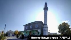 Мечеть в Холмовке, октябрь 2019 года