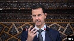 Bašar al-Asad u parlamentu, 7. jun 2016.