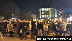 Protest '1od5miliona' u Kragujevcu, 11 januar 2020.