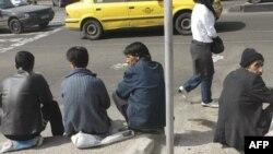 Tehranda işsizlər - 2008