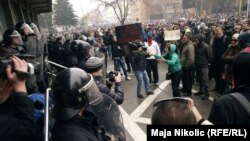 Protesti u Tuzli, 6. februar