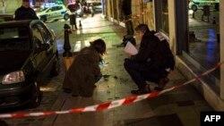 ماموران پلیس در محل یکی از حملات