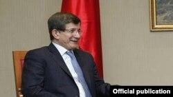 Թուրքիայի արտգործնախարար Ահմետ Դավութօղլու