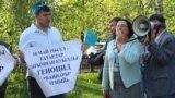 Tatarstan -- Commemoration of the victims of Crimean Tatars deportation. Kazan. 18May2018