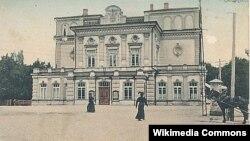 Будынак тэатру, 1910 год