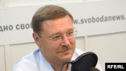 Konstantin Kosachev chairs the State Duma's foreign affairs committee.