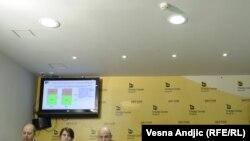 Konferencija za novinare povodom istraživanja o percepciji Haga, Beorgad 28. februar 2012.