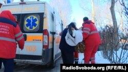 Евакуація з авдіївської лікарні