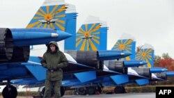 Российская авиабаза в Канте.