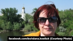 Богдана Костюк, журналістка Радіо Свобода і перша очільниця Київського бюро Радіо Свобода