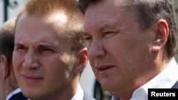 Віктор Янукович із сином Олександром